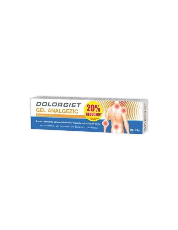 DOLORGIET (gel analgezic) 100ml