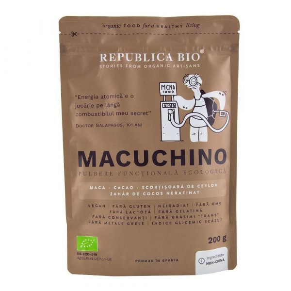 MACUCHINO ECO 200g REPUBLICA BIO