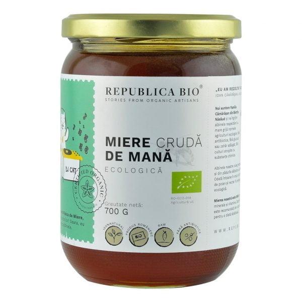 MIERE DE MANA CRUDA ECO 700g REPUBLICA BIO