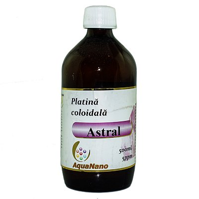 PLATINA COLOIDALA 5ppm 500ml