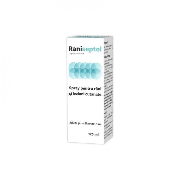 Raniseptol Spray 125ml Zdrovit