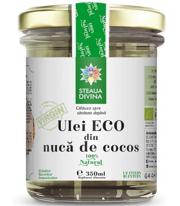 ULEI DE COCOS ECO 350ml SANTO RAPHAEL