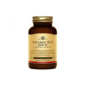 VITAMIN D3 1000IU 100chewable Tabs