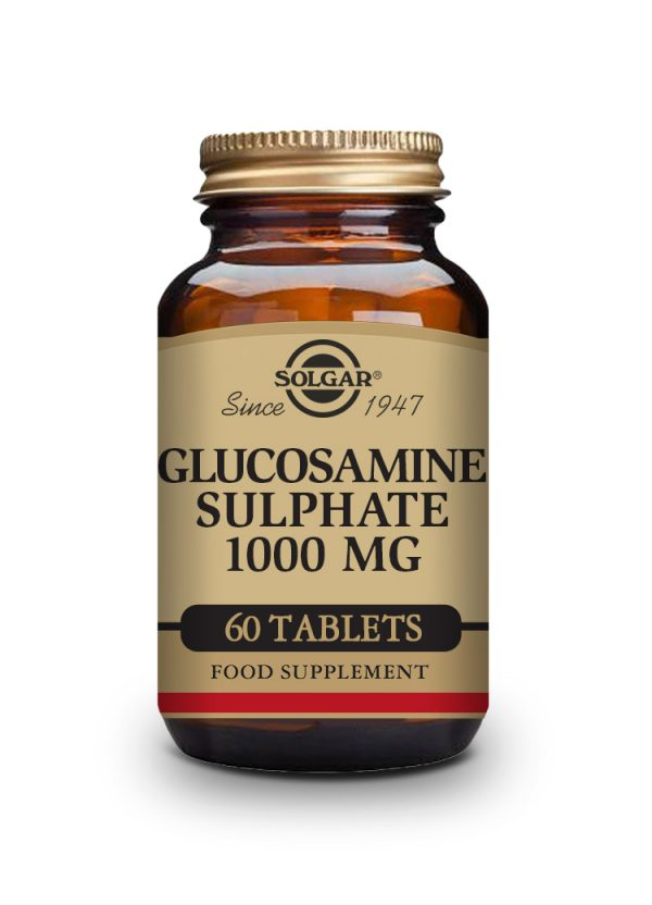 glucosamine sulphate 1000mg 60cps solgar