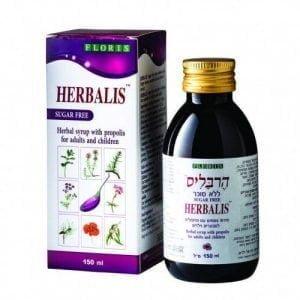 sirop herbalis fara zahar floris 150ml