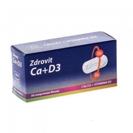 Ca+D3-50cpr-ZDROVIT