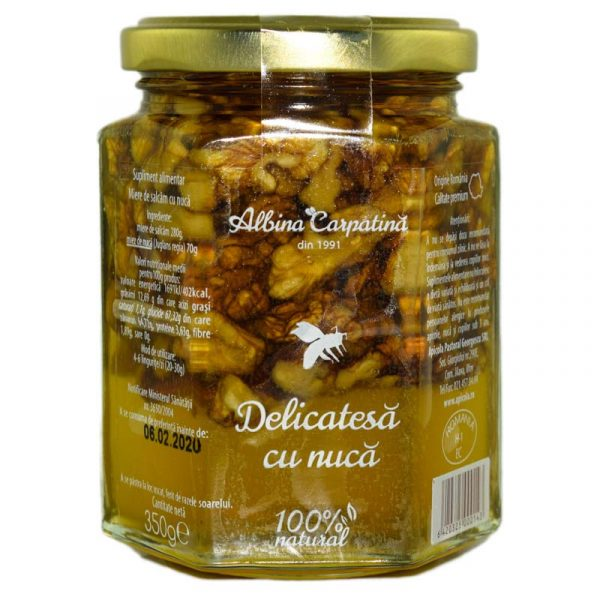 DELICATESE-MIERE-NUCI-350g-APICOLA-PASTORAL-GEORGESCU