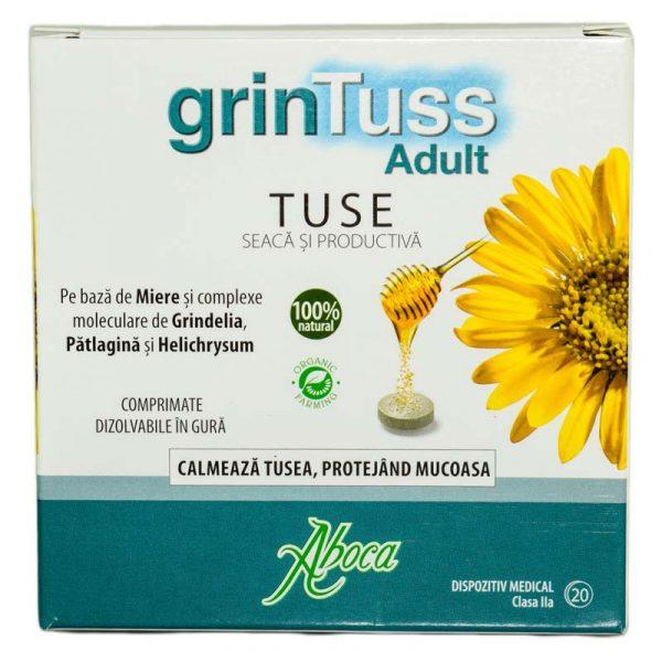 GRINTUSS-TABLETE-ADULTI-POLIRESIN-20cpr-ABOCA