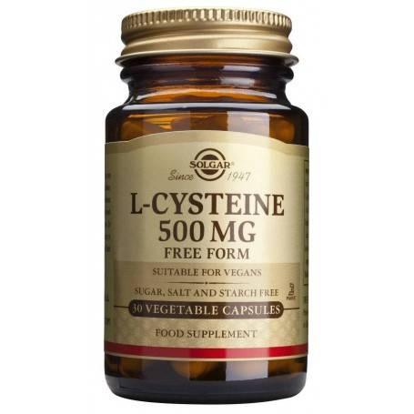 L-CYSTEINE-500mg-veg.30cps-SOLGAR