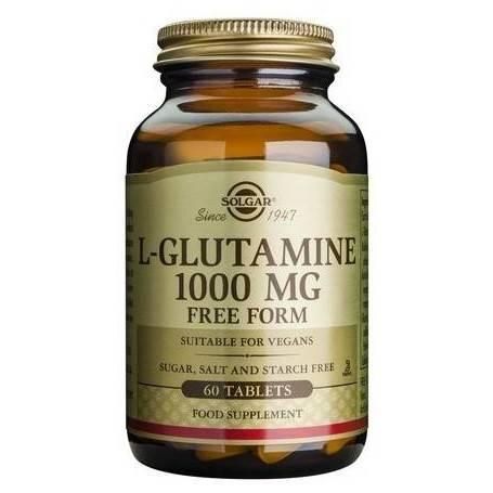 L-GLUTAMINE-1000mg-60tb-SOLGAR