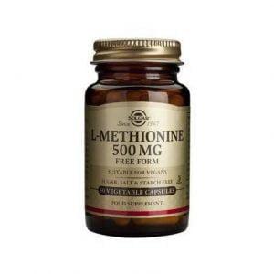 L-METHIONINE-500mg-veg.30cps-SOLGAR
