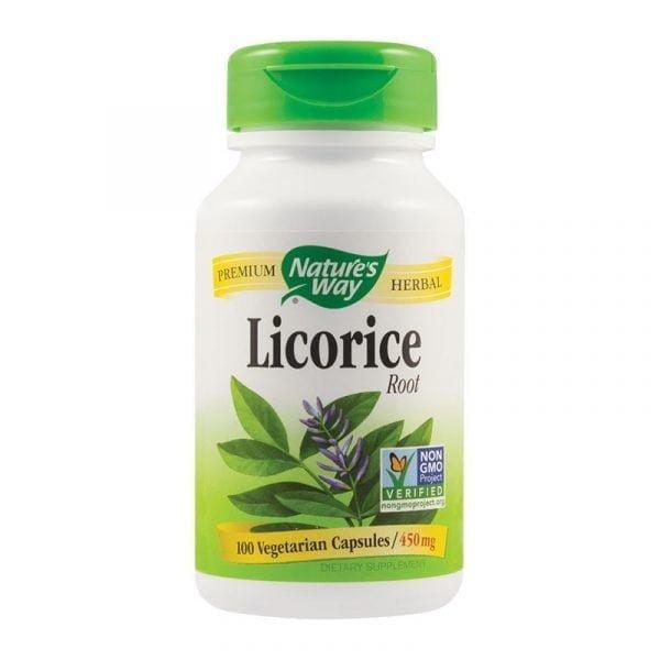 LICORICE-(LEMN-DULCE)-450mg-100cps-SECOM