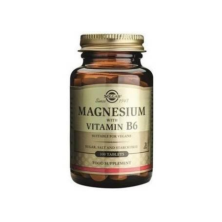 MAGNESIUM-+-B6---100cpr-SOLGAR