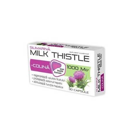 MILK-THISTLE+COLINA-90cps+30cps(cadou)--ZDROVIT