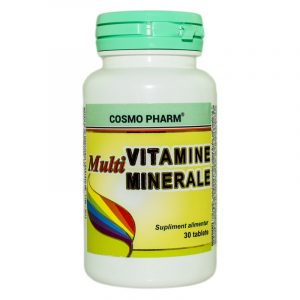 MULTIVITAMINE-SI-MULTIMINERALE-30tb-COSMOPHARM