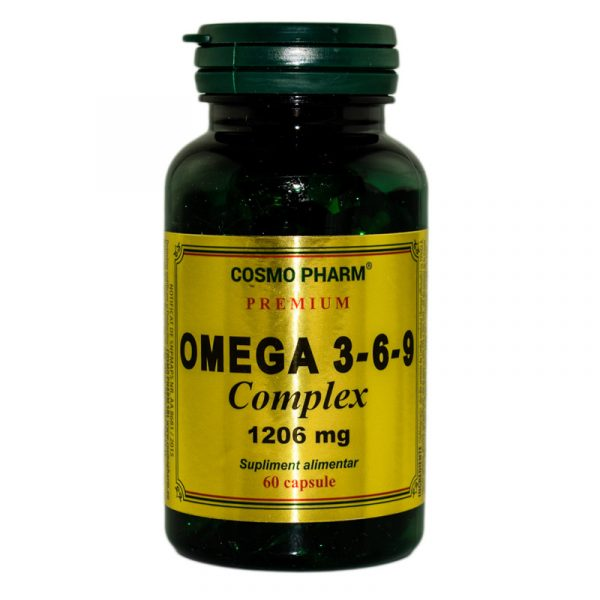 OMEGA-3*6*9-COMPLEX-1206mg-PREMIUM-60cps-COSMOPHARM