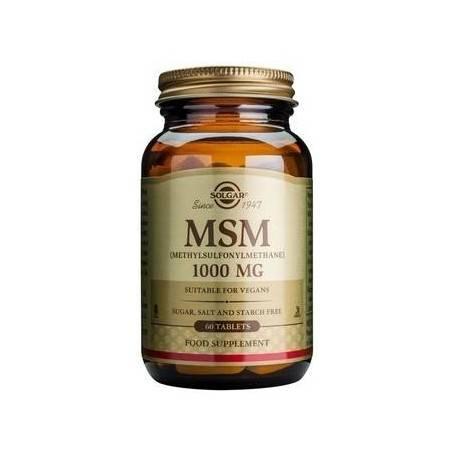 PACHET--MSM-1000mg-60tB+MAGNESIUM-&-B6-100tb(cadou)-SOLGAR