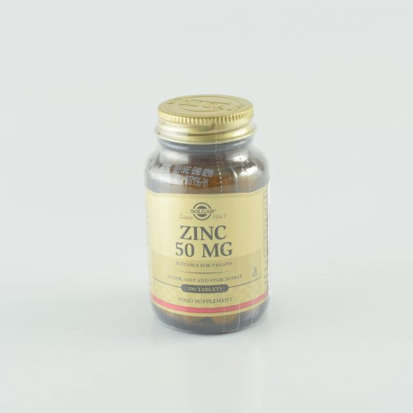 PACHET-ZINC-GLUCONATE-50mg-100tb+MAGNESIUM-+-B6---100cpr(cadou)-SOLGAR