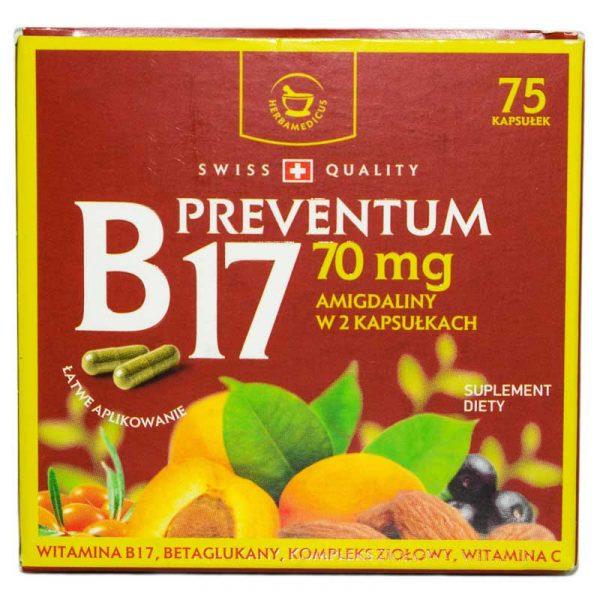 PREVENTUM-B17-(70mg)-75cps-NATURALI-PROD