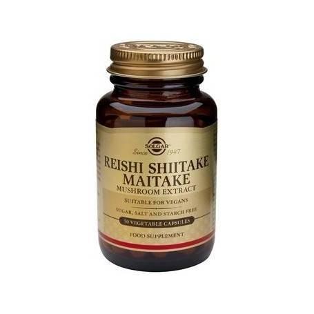 REISHI-SHIITAKE-MAITAKE-MUSHROOM-EXTRACT-veg.50cps-SOLGAR