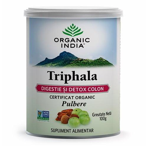 TRIPHALA-ECO-100g-(pulbere)-ORGANIC-INDIA
