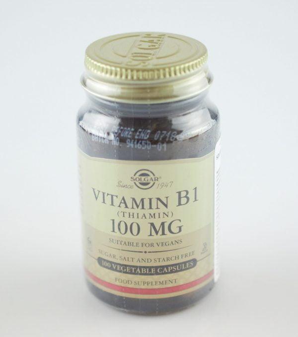 VITAMIN-B-1-100mg-veg.caps-100cps-SOLGAR