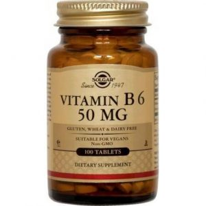 VITAMIN-B-6-50mg-100tb-SOLGAR