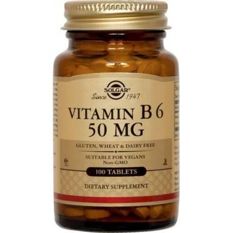 VITAMIN-B-6-50mg-100tb-SOLGAR